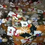 Christmas Goodies!!  Christmas Door Chime, Christmas Holiday Tea Lights, Christmas Cards, Ornaments, Christmas Card Holder and more!
